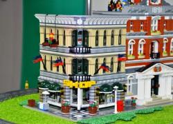 Wystawa modeli z klocków LEGO -