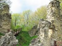 Ruiny zamku na g�rze Sobie�